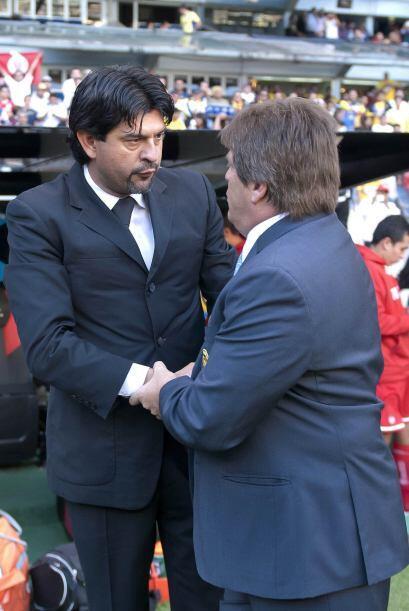 Cardozo y Herrera coordiales de principio a fin.