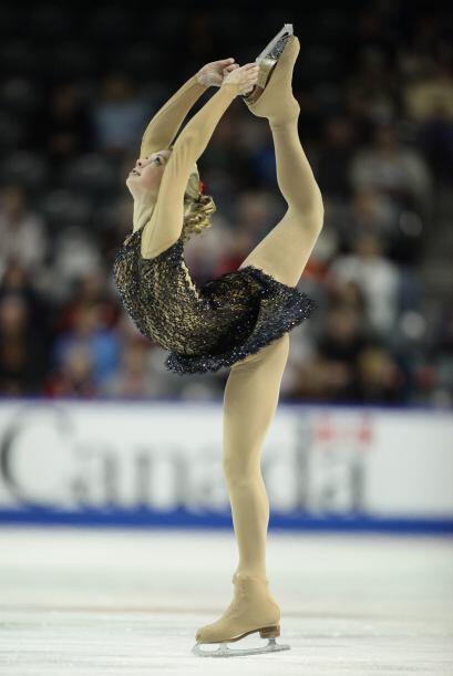 Desde Rusia, Ksenia Makarova.