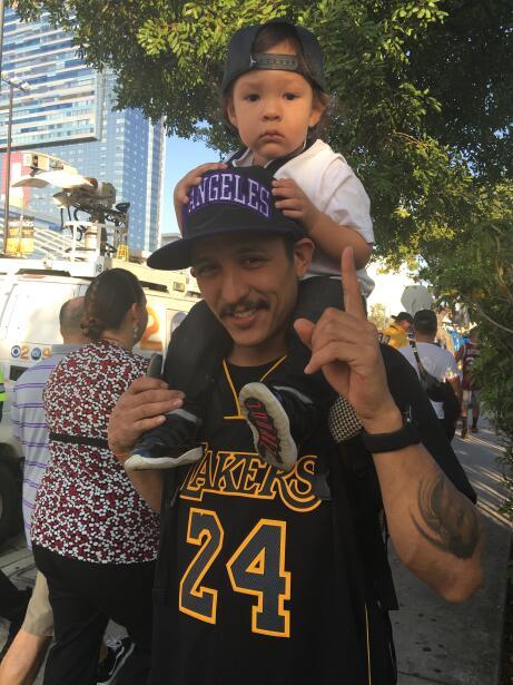 Aficionados de Kobe Bryant