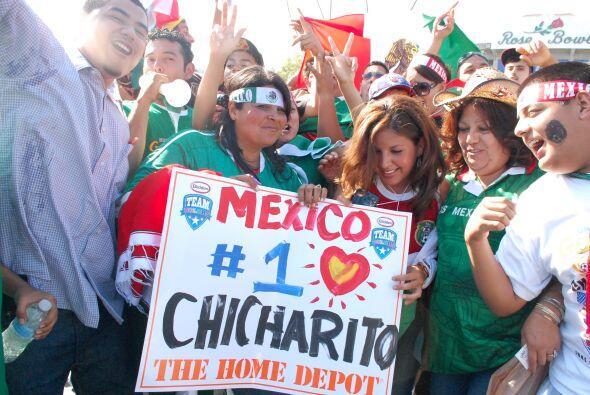 Pero uno de los más seguidos siempre es Javier Hernández, el hombre gol...