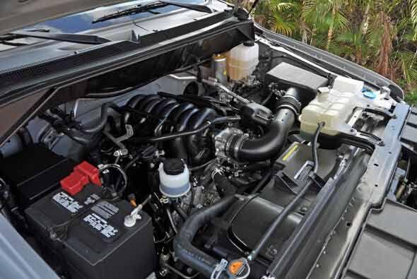 Estará disponible con dos motores: un V6 4.0 y 261 caballos de fuerza o...