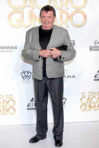 """Xavier López """"Chabelo"""" en el estreno de la película """"El Crimen del Cácar..."""