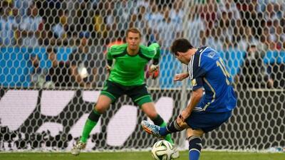 Leo jamás ha vencido al portero alemán en sus duelos previos a la semifi...