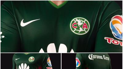 América lanza uniforme verde en apoyo al Tri