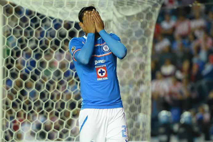 Cruz Azul cerca de otro récord negativo