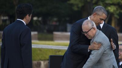 """Obama en Hiroshima: """"La muerte cayó desde el cielo y el mundo cambió"""""""
