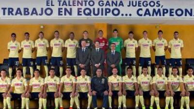 El conjunto de Coapa se tomo la foto oficial del Apertura 2014.