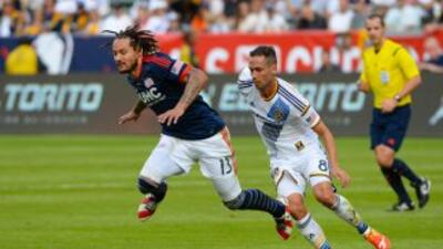 Jermaine Jones durante la final de la Copa MLS