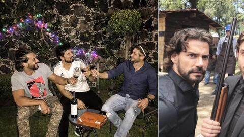Cristian Horacio y Diego, los tres alegres compadres