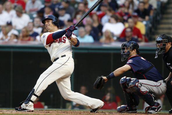 SS. Asdrubal Cabrera. Indios de Cleveland. En el 2011, batea para .292...