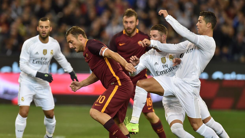 Real Madrid y Roma lucieron faltos de forma.