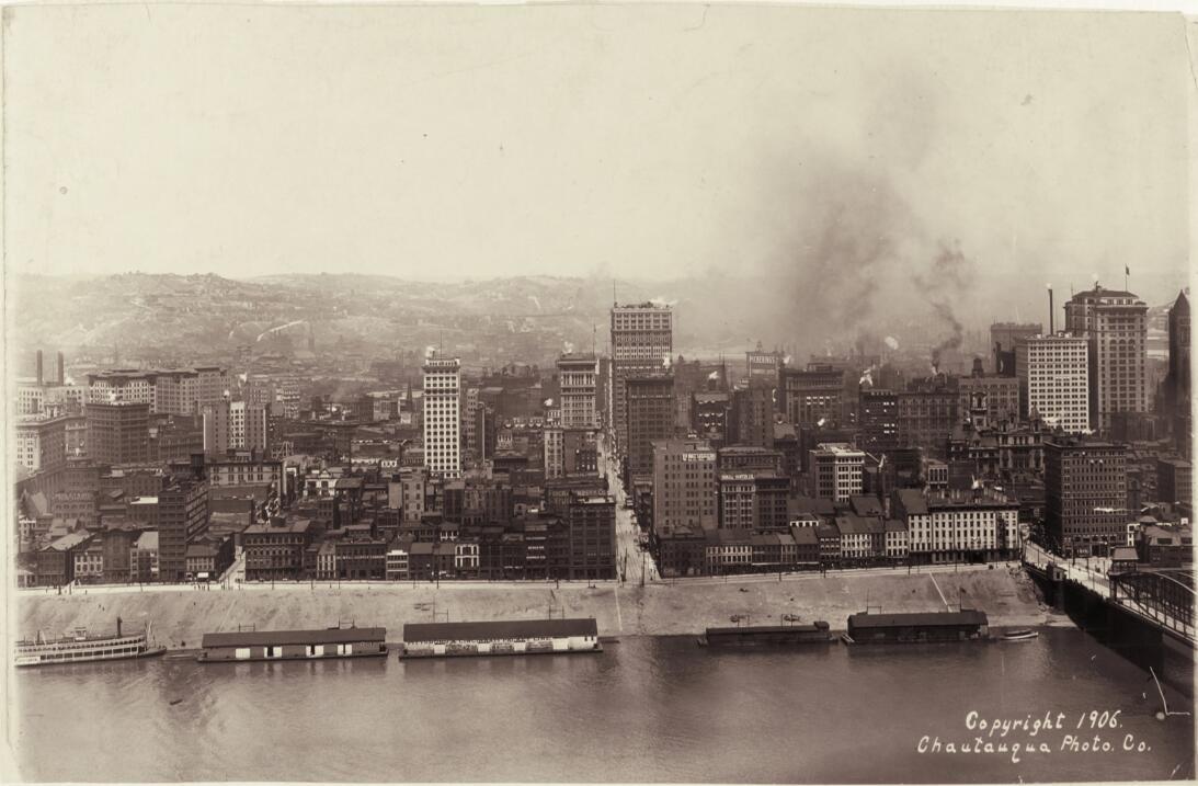 Contaminación en Pittsburg 1906