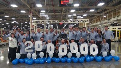 Chrysler de México produjo su motor 2 millones.