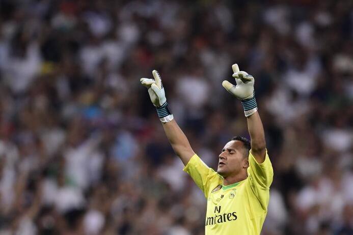 Sin duda, Keylor Navas es el portero elegido por Zidane para salvaguarda...