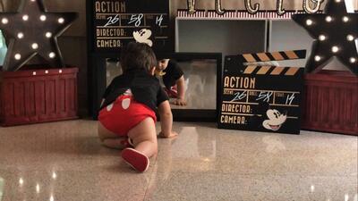 #DAElReality: Fotos del mágico encuentro entre MVP, el hijo de Lourdes Stephen, y su amiguito Mickey