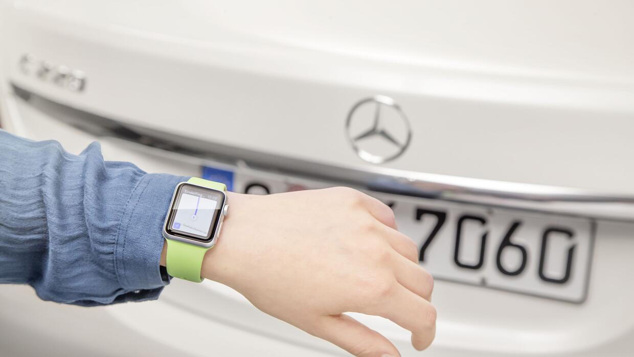 Estas son las aplicaciones automotrices que corren en Apple Watch