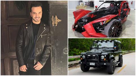 Los carros de Luis Fonsi