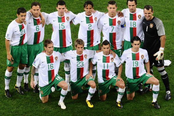 La Selección Nacional de Portugal, con Cristiano Ronaldo como su estrell...