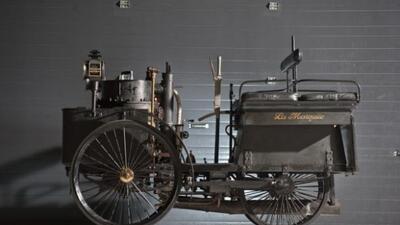 De Dion-Bouton et Trépardoux Dos-a-Dos Steam Runabout