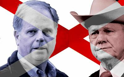 Alabama election offers a stark contrast in candidates: Democrat Doug Jo...