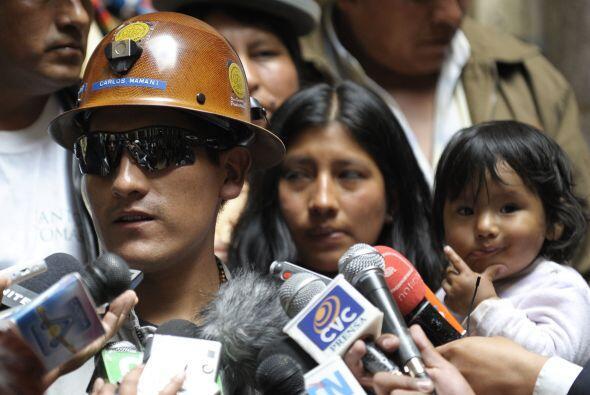 El cónsul de Bolivia en Chile, Walker San Miguel, confirmó que Mamani la...
