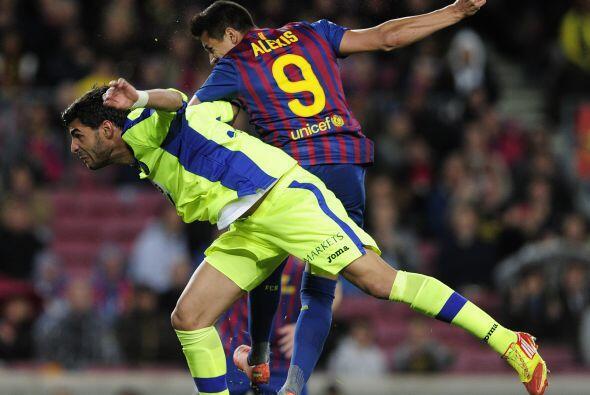 Alexis Sánchez puso la cabeza, marcó el tercero del equipo culé y un nue...