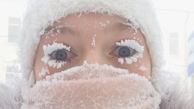"""""""El pueblo más frío del mundo"""": Aquí se te congelan hasta las pestañas"""