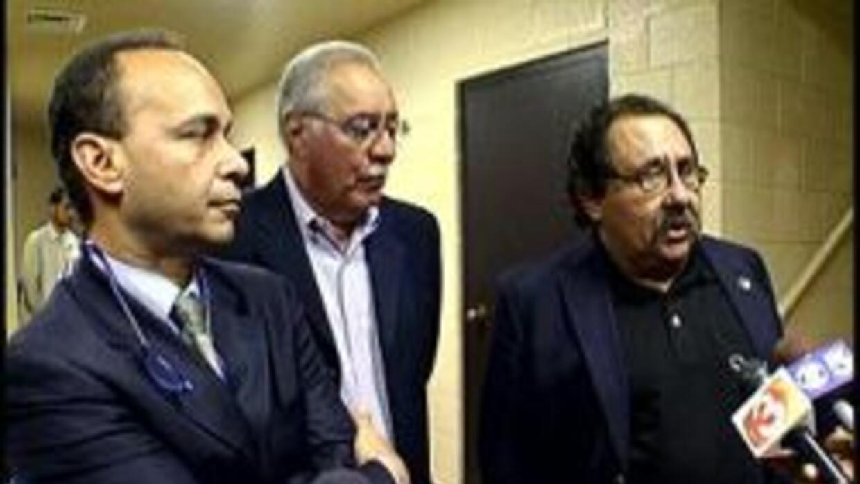 Representantes Gutierrez, Pastor, y Grijalva
