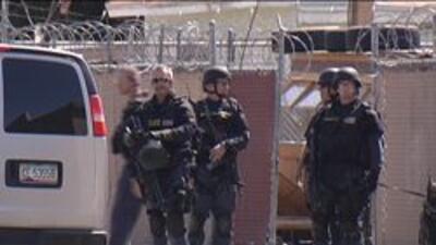 Oficiales de swat de la ciudad de Phoenix