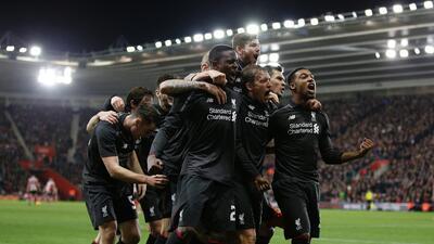 Liverpool avanzó a semifinales de la Copa de la Liga