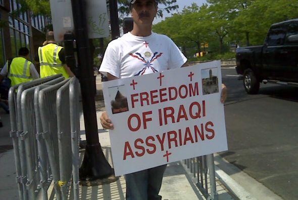 Protestas en Chicago OTAN