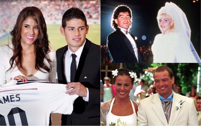 Divorcios en el fútbol: cuando el amor se acaba fuera de la cancha Divor...