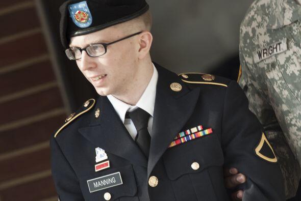 Bradley Manning fue acusado de colusión con el enemigo por las filtracio...
