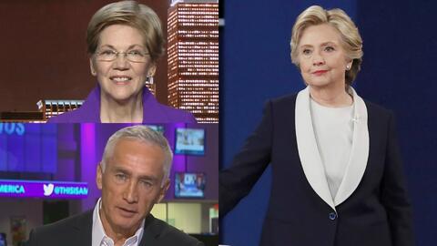 Senadora Elizabeth Warren dice que el futuro de Hillary Clinton no se ve...