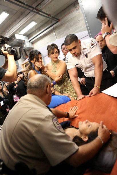 La madre de Tershya Soto sufrió un desmayo tras su eliminación.