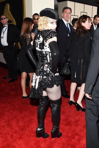 Pero ahora sí la que se voló la barda con su elección fue Madonna, quien...