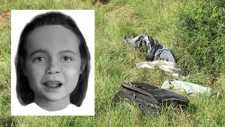 Los restos de una niña, de entre 3 y 5 años, aparecieron dentro de una m...