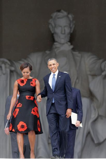 Eso sí, siempre veremos a Michelle Obama muy femenina, presentable y ref...