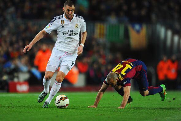 Benzema (7): Fue el mejor madridista, un quebradero de cabeza para la de...