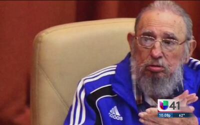 Hombre de San Antonio habla de sus visiones sobre Fidel Castro
