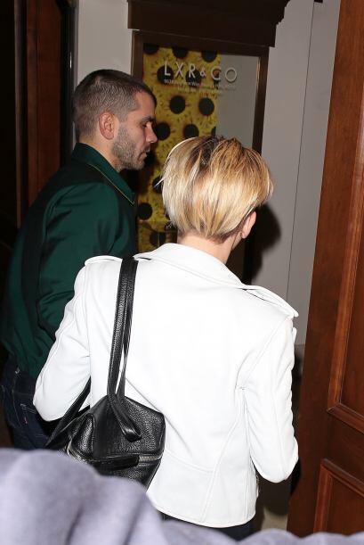 Scarlett a su llegada a un evento en Los Angeles.