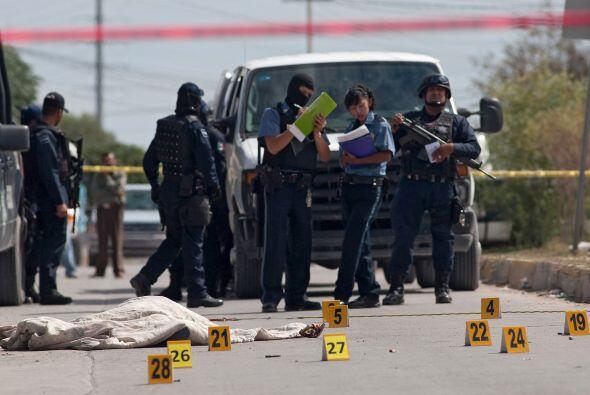 Octubre se coronó como el mes más violento en la fronteriza Ciudad Juáre...