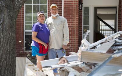 Cindy y Javier Ramírez han empezado el proceso de reconstrucci&oa...