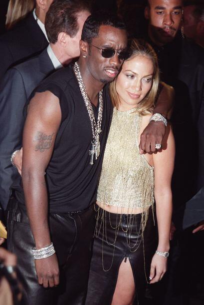 Luego, Jennifer Lopez estuvo de amores con el rapero Sean Combs.