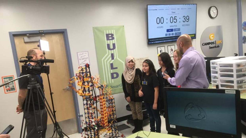 El nuevo Campos SmartLab en la primaria Samuels de Denver