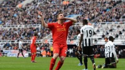 Liverpool goleó a Newcastle.