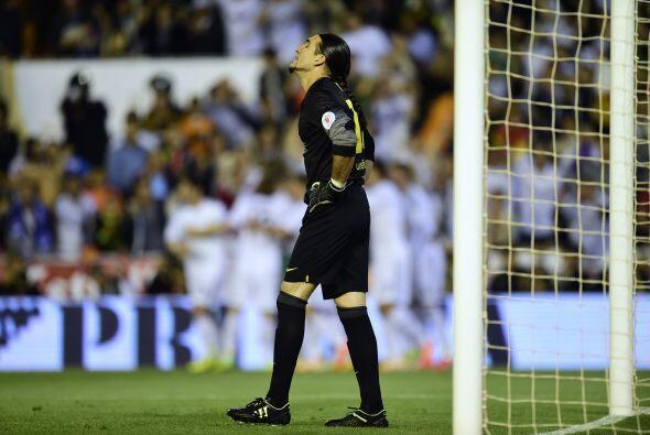 El portero Pinto sabía que influyó en el gol al no desviar el balón corr...