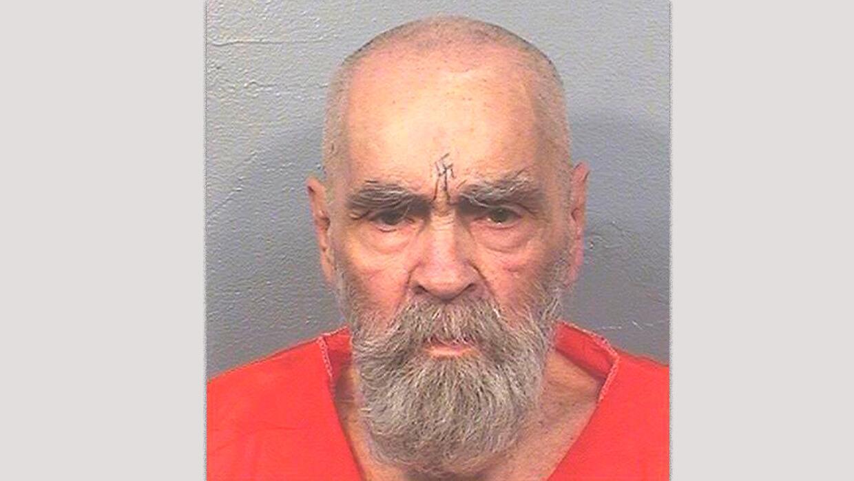 Charles Manson está en prisión desde hace 40 años. Foto del 14 de agosto...