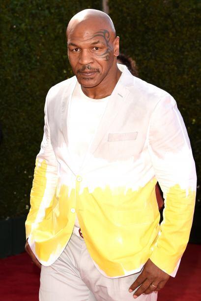 No sabemos aún si a Mike Tyson sus hijitos le pintaron con marcadores su...
