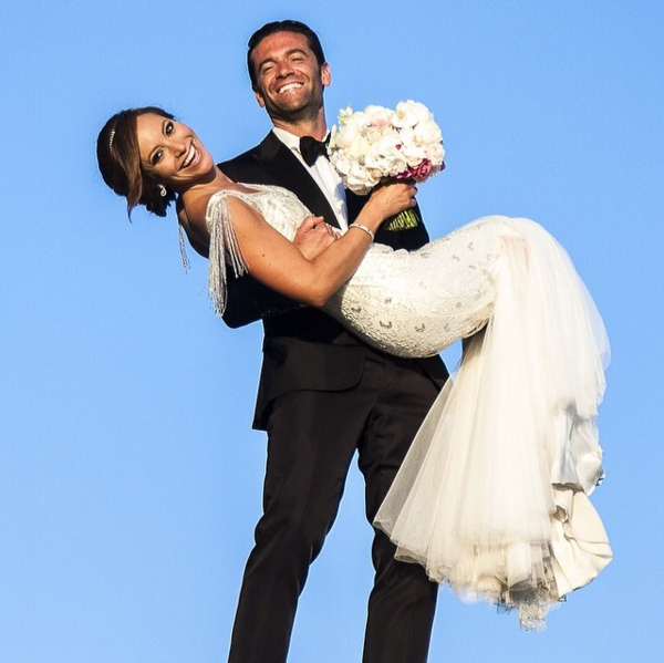 Satcha se casó con el abogado Aaron Butler en agosto de 2013 en Barcelon...